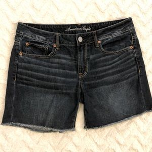 [American Eagle] Boyfriend Midi Style Denim Shorts